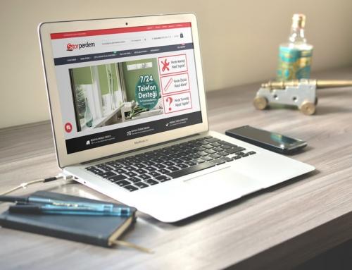 Stor Perdem / E-Ticaret Sitesi