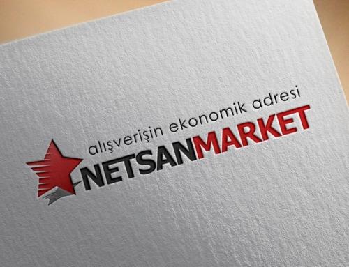 Netsan Market / Logo Tasarımı